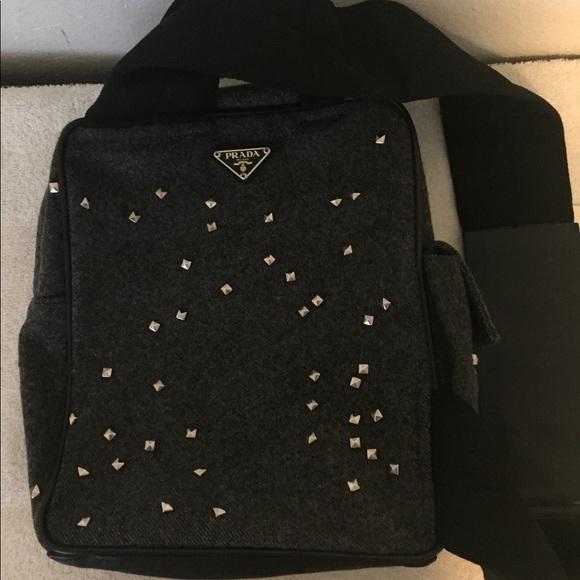 631308ff67f3 Prada Bags   Rare Fw 99 Stud Detailed Chest Rig Bag   Poshmark